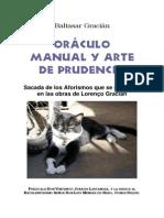 36242656 Baltasar Gracian Oraculo Manual y Arte de Prudencia