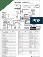 Dell Inspiron 1520 1720 Quanta Fm5 Corsica Gilligan Discrete Rev x02 Sch
