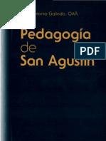Galindo, Jose Antonio - Pedagogia de San Agustin