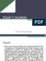 Trabajo de compilación bibliográfica TOGAF Y ZACHMAN