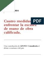 Propuestas de política de APOYO Consultoría