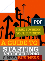 12 828 Make Business Your Business Guide to Starting