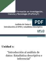 1. Profincyt - Análisis de Datos I