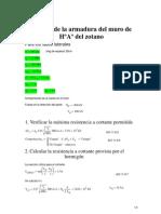 DISEÑO DE MURO DE HºAº zotano