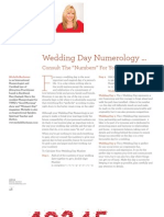 Wedding Day Numerology