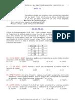 Estatística - Matemática Financeira - 08