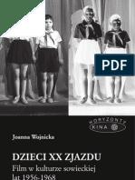 Dzieci XX Zjazdu. Film w Kulturze Sowieckiej Lat 1956-1968 - eBook