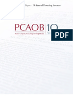 PCAOB 2012 Annual Report