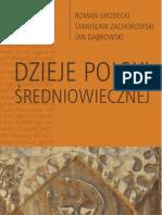 Dzieje Polski średniowiecznej - ebook