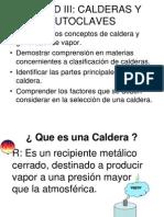 CURSO DE CALDERA TIPOS DE  CALDERA UNIDA III.ppt