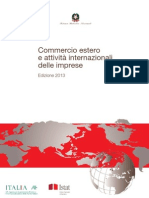 Commercio estero e attività internazionali - 16-lug-2013 - Testo del volume