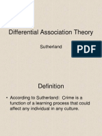 sutherland differential association