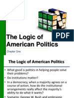 Ch 01 Outline - Logic of American Politics