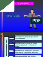 HIPÓTESIS.VARIABLES.PREGRADO.OCTUBRE. 2012