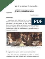 Andorno- Regulación legal de las técnicas de procreación asistida