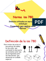 Norma iso 780