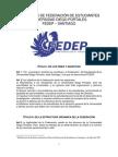 Estatutos FEDEP UDP