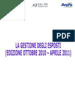 Gestione Esposti - Relazione Definitiva
