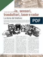 Mezzo Secolo Di Elettronica - Telefonia, Sensori (1 Di 6)