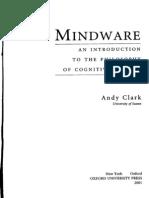 Andy Clark, Mindware, Chaps 1-2
