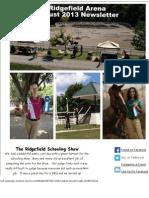 August 2013 Newsletter