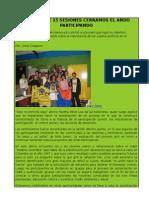 DESPUÉS DE 15 SESIONES CERRAMOS EL ANDO PARTICIPANDO