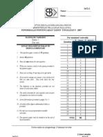 Add Math SBP 07 Paper 1