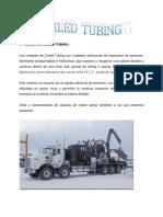 Unidad de Coiled Tubing