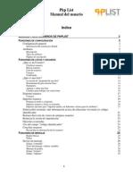 Manual Del Usuario Php List