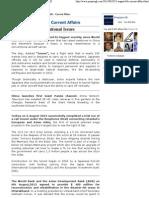 2013 - August 6th - Current Affairs _ PREPARE GK