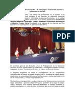 Nota de Prensa - Foro Educativo PUCP