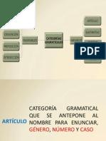 03 CATEGORIAS GRAMATICALES