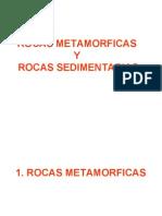 4º Sem. ROCAS METAMORFICAS Y SEDIMENTARIAS.ppt