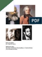 Diferencias Marxismo Positivismo Funcionalismo