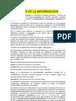 1. CONCEPTOS GENERALES DE SEGURIDAD DE LA INFORMACIÓN