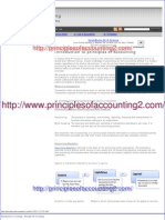 Introduction to Accounting - Principles of Accounting