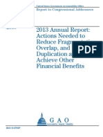 GAO Report on Fraud, Waste, Abuse