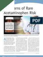 FDA Acetominofen