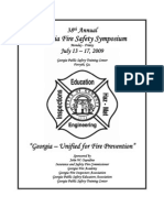 2009 Fire Safety Symposium Brochure