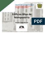 Edificios Altos de Mamposteria Definitiva
