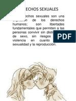 Derechos Sexuales Diapositivas