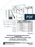 Selection Guide for Transformer-primary Fuses In