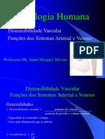Aula 11- Distensibilidade vascular e função dos sistemas arterial e venoso