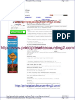 Bank Reconciliation Statement - Principles of Accounting