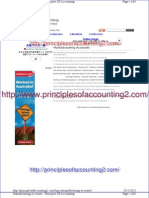 Manufacturing Accounts - Principles of Accounting