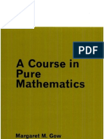 A Course in Pure Mathematics