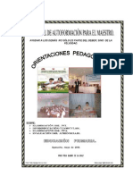 Orientaciones Pedagogica Regional