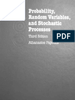 Probability, Random Variables and Stochastic Processes - Athanasios Papoulis [3rd Edition]