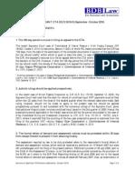 27. Summary of Significant CTA Decisions (Sept- Oct 2010).pdf