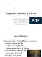 Respuesta inmune a parásitos 2013